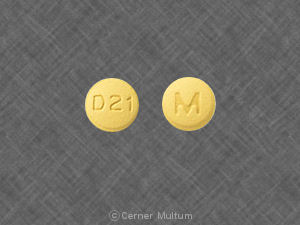 Doxycycline monohydrate 50 mg M D 21