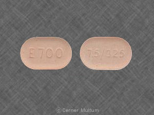 Endocet 325 mg / 7.5 mg 7.5/325 E700