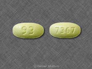 Hydrochlorothiazide and losartan potassium 12.5 mg / 50 mg 93 7367