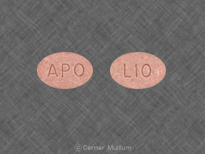 Lisinopril 10 mg APO L10