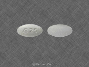 Lisinopril 2.5 mg E 25