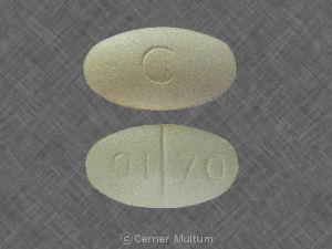 Oxaprozin 600 mg C 01 70