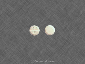 Prednisone 5 mg MP 51