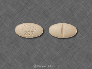 Prinivil 20 mg MSD 207