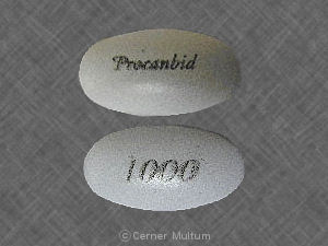 Procanbid 1000 mg/12 hours