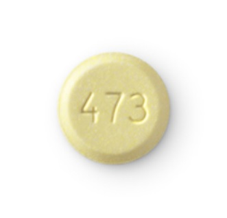Isentress (chewable) 25 mg Logo 473