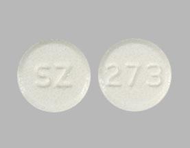 Rizatriptan benzoate 10 mg (base) SZ 273
