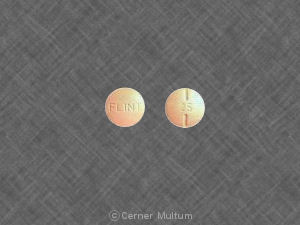 Pill Imprint FLINT 25 (Synthroid 25 mcg (0.025 mg))