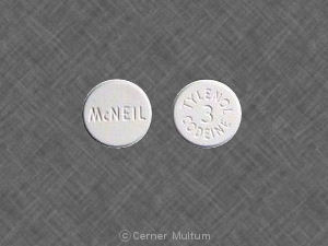Tylenol with codeine #3 300 mg / 30 mg TYLENOL 3 CODEINE McNEIL