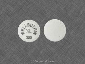 Wellbutrin XL 300 mg
