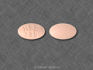 Zocor 10 mg ZOCOR MSD 735