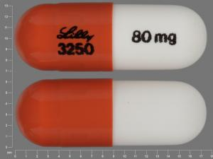 Strattera LILLY 3250 80 mg