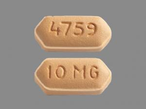 Effient 10 mg 10 MG 4759