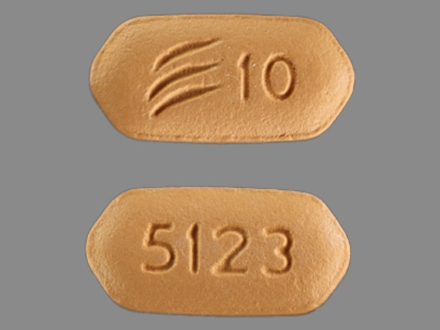 Effient 10 mg 5123 Logo 10