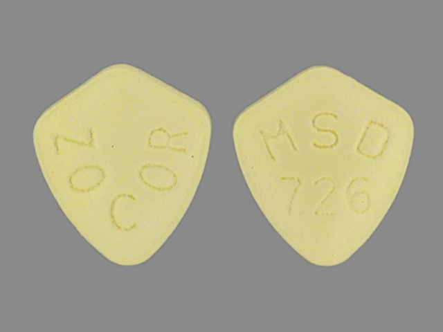 Zocor 5 mg ZOCOR MSD 726