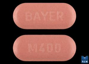 Avelox 400 mg M400 BAYER