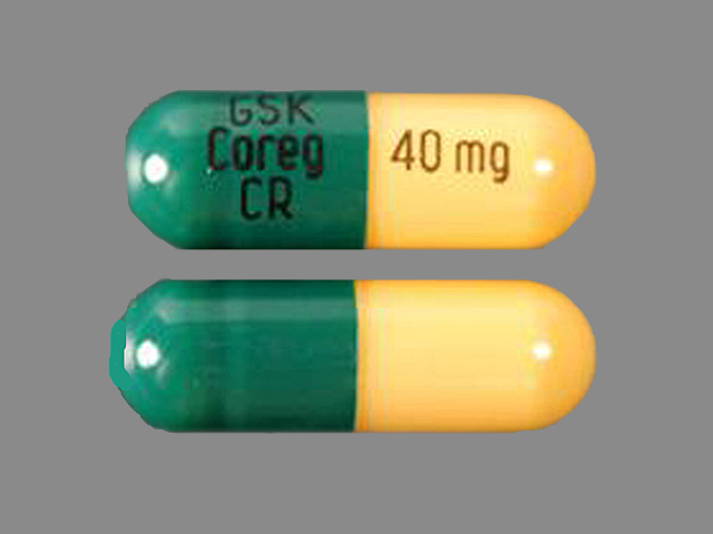 Coreg CR GSK COREG CR 40 mg