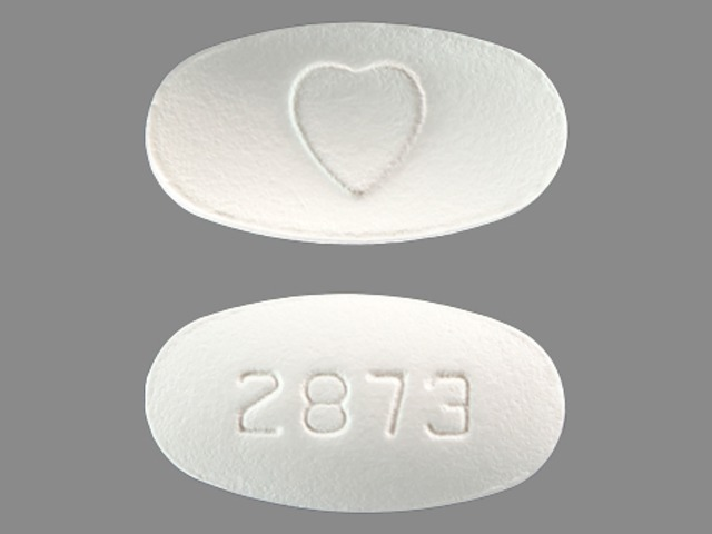 Avapro 300 mg 2873 Logo (Heart)