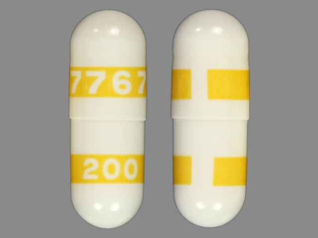 Pill Imprint 7767 200 (Celebrex 200 mg)