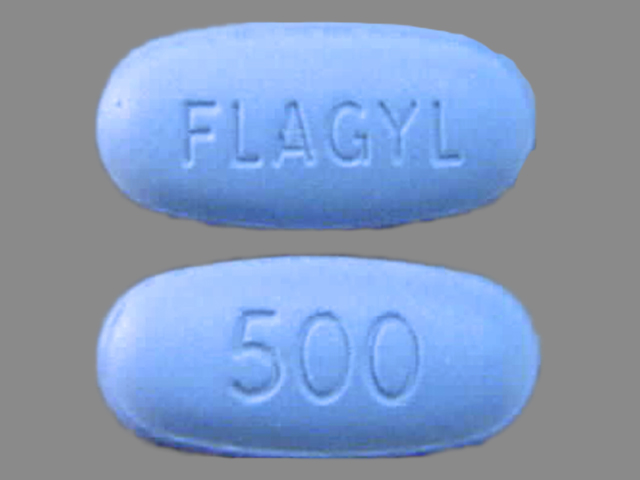 Pill Imprint 500 FLAGYL (Flagyl 500 mg)