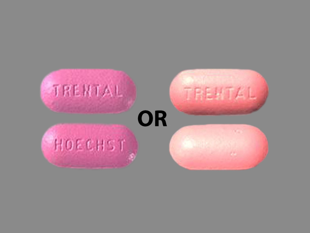 Trental 400 mg HOECHST TRENTAL