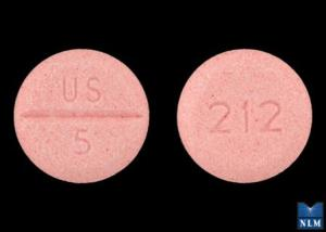 Midodrine systemic 5 mg (US 5 212)