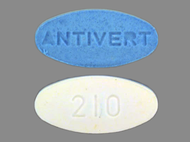 Antivert 12.5 mg 210 ANTIVERT