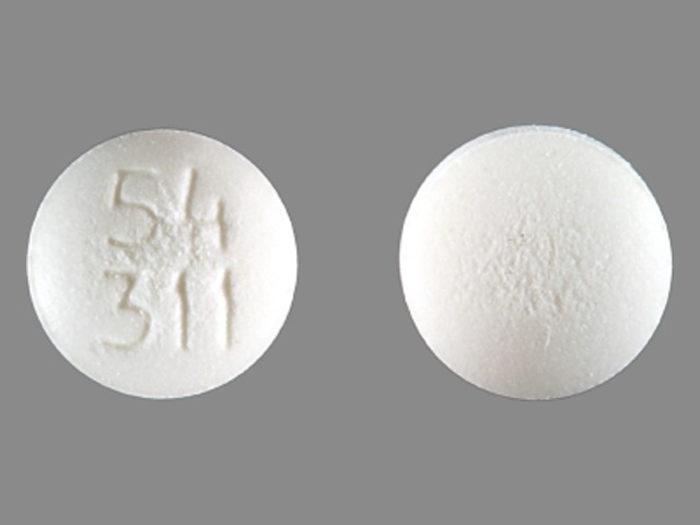 Pill Imprint 54 311 (Acarbose 25 mg)