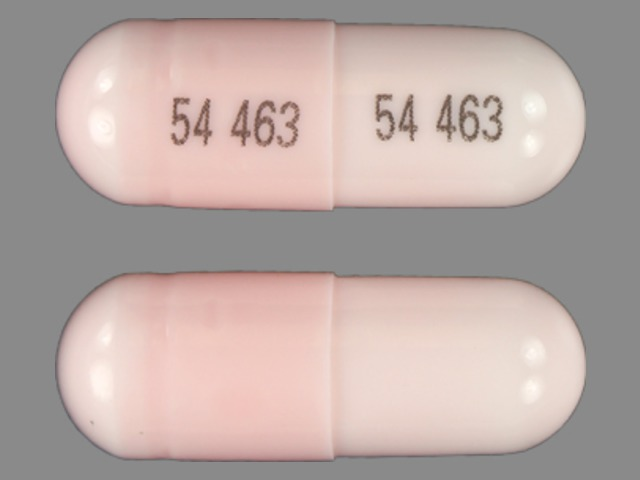 Pill Imprint 54 463 54 463 (Lithium Carbonate 300 mg)