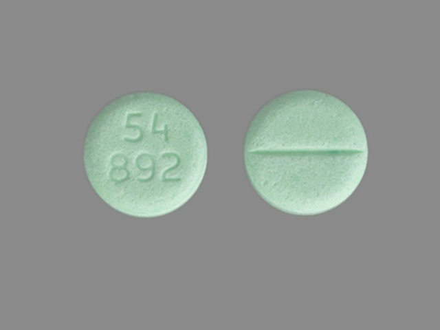 Pill Imprint 54 892 (Dexamethasone 4 mg)