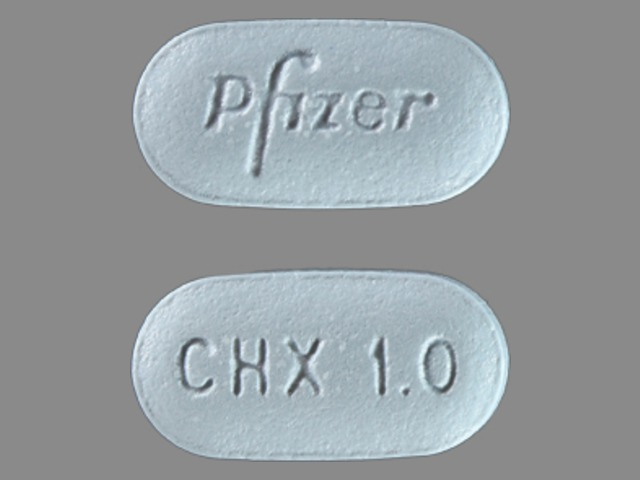 Chantix 1 mg Pfizer CHX 1.0