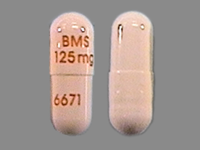Videx EC 125 mg BMS 125mg 6671