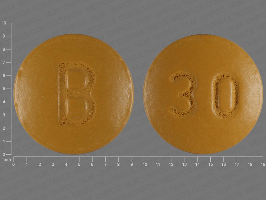 Nifedipine ER 30 mg 30 B