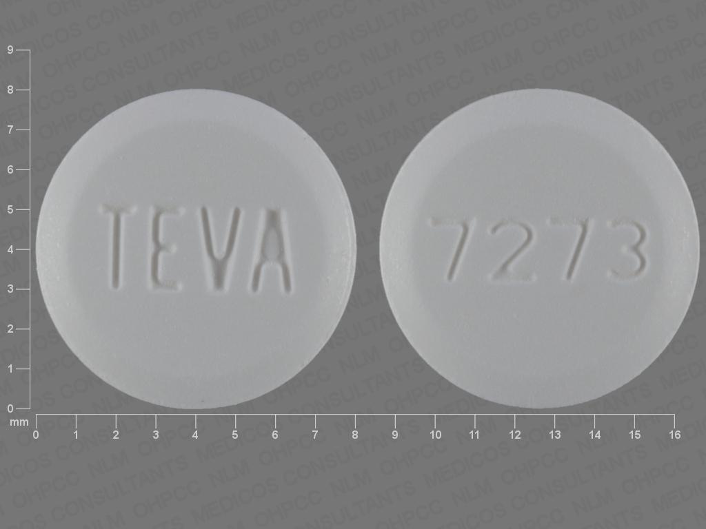 Pioglitazone hydrochloride 45 mg TEVA 7273