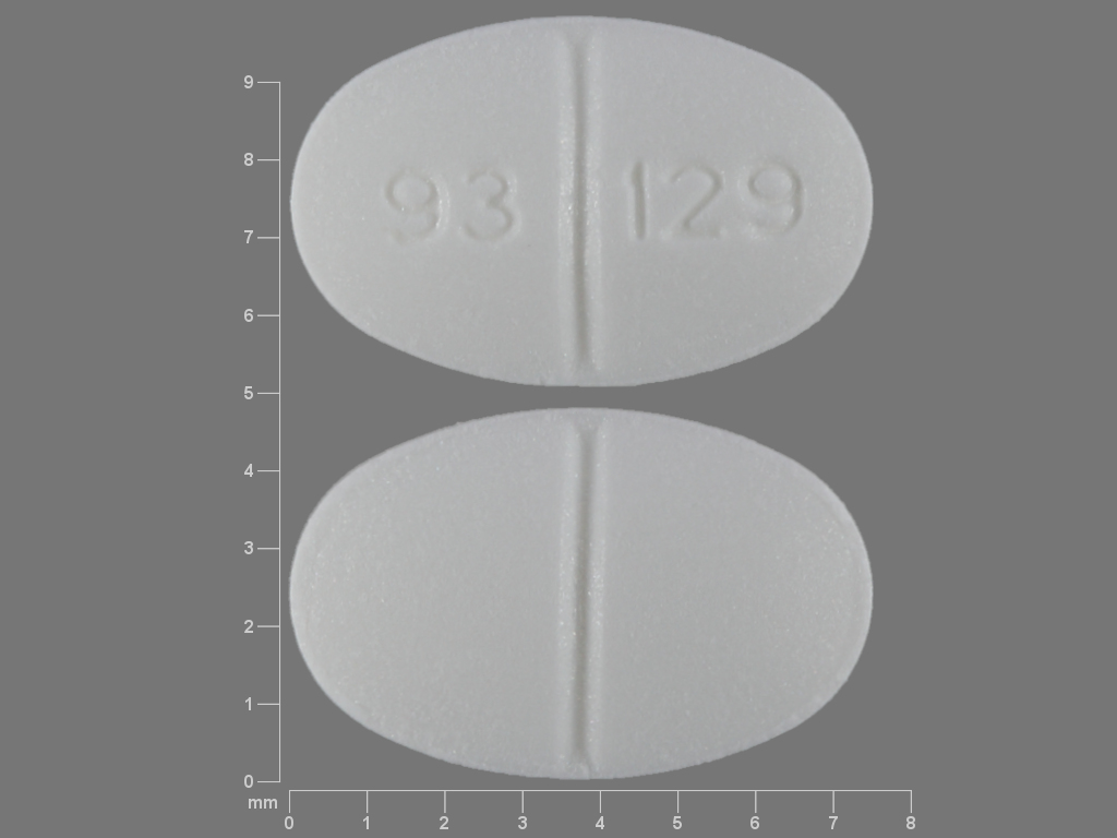 Pill Imprint 93 129 (Estazolam 1 mg)