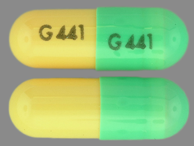 Pill Imprint G441 G441 (Dantrolene Sodium 25 mg)