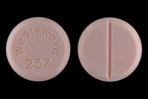Hydrochlorothiazide West-ward 257