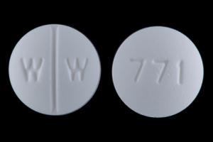 Isosorbide dinitrate 10 mg W W 771