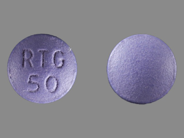 Pill Imprint RTG 50 (Potiga 50 mg)