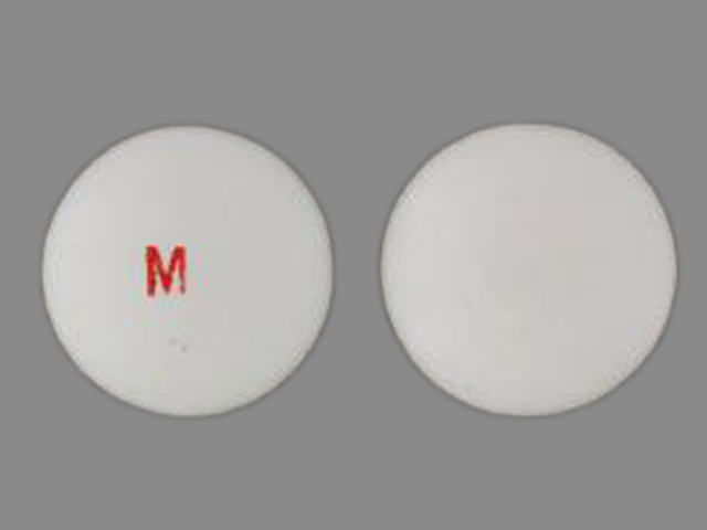 Pill Imprint M (Thiola 100 mg)