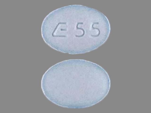 Metolazone 5 mg E 55