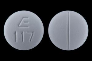 Labetalol hydrochloride 200 mg E 117