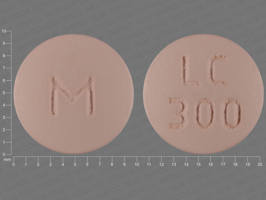 Lithium carbonate extended release 300 mg M LC 300