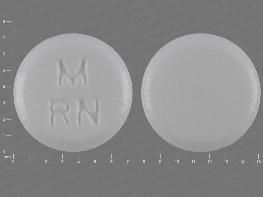 Risperidone (orally disintegrating) 0.5 mg M RN
