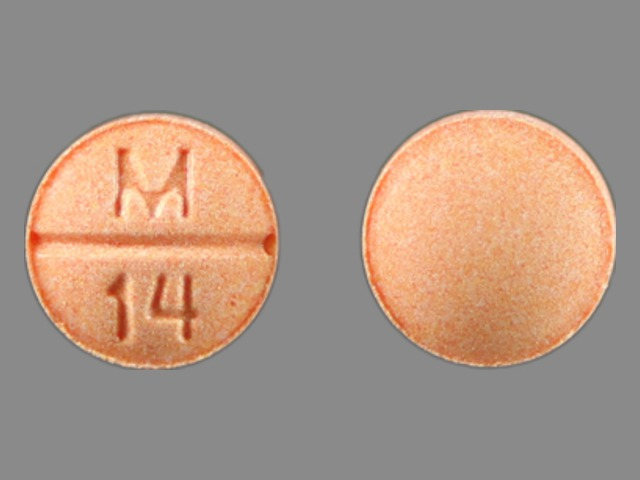 Methotrexate systemic 2.5 mg (M 14)