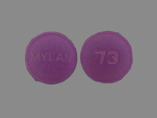 Amitriptyline and perphenazine 50 mg / 4 mg MYLAN 73