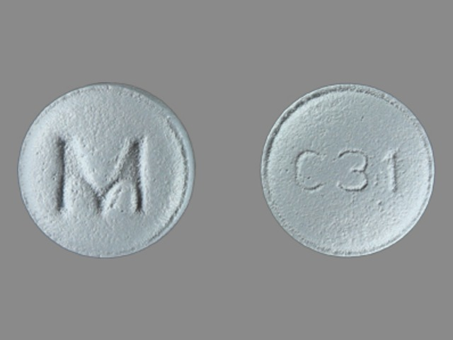 Carvedilol 3.125 mg M C31