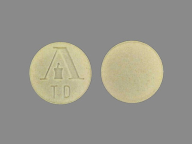 Pill Imprint Logo TD (Armour Thyroid 30 mg)
