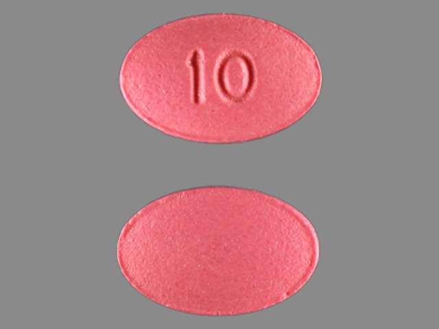 Pill Imprint 10 (Viibryd 10 mg)