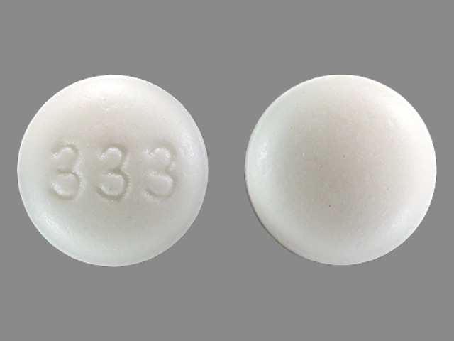 Pill Imprint 333 (Campral 333 mg)
